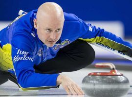 Kevin Koe will skip the favored Canadian team at the 2019 World Men's Curling Championship. (Image: Jonathan Hayward/The Canadian Press)