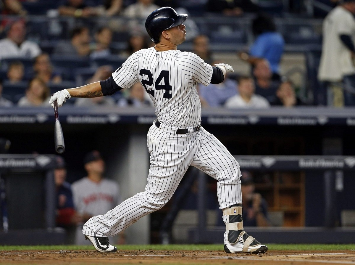 Gary Sanchez Kraken Yankees