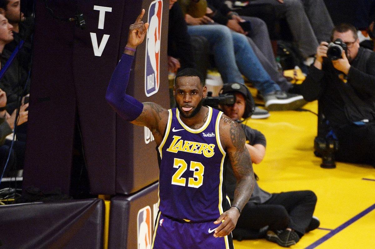 LeBron James Passes Jordan
