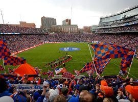 Major League Soccer has named MGM Resorts as the soccer league's first official gaming partner. (Image: Sam Greene/Cincinnati Enquirer)