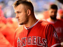 Mike Trout is preparing to sign a contract extension worth $430 million with the Los Angeles Angels. (Image: Getty)