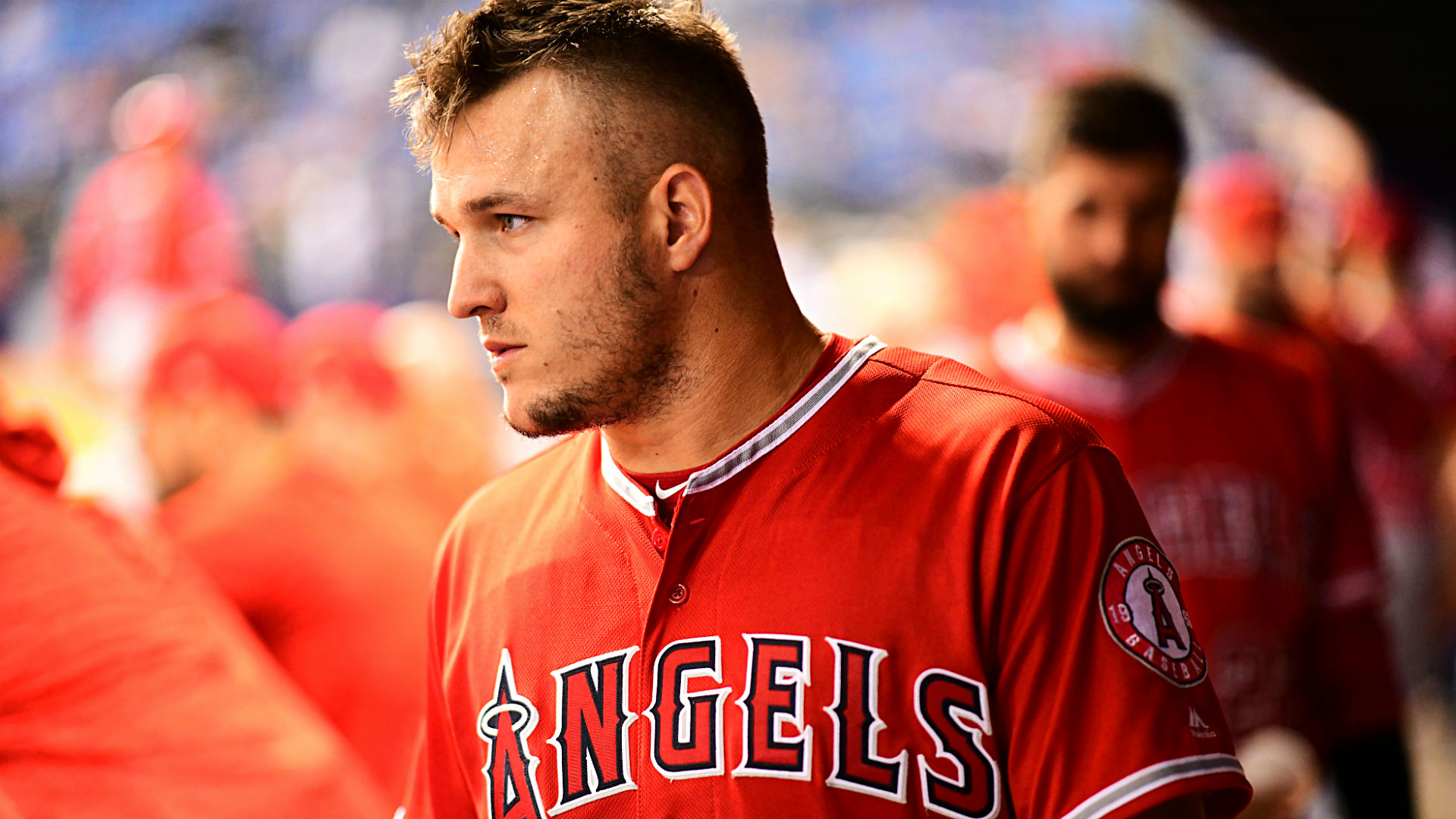 Mike Trout Angels contract