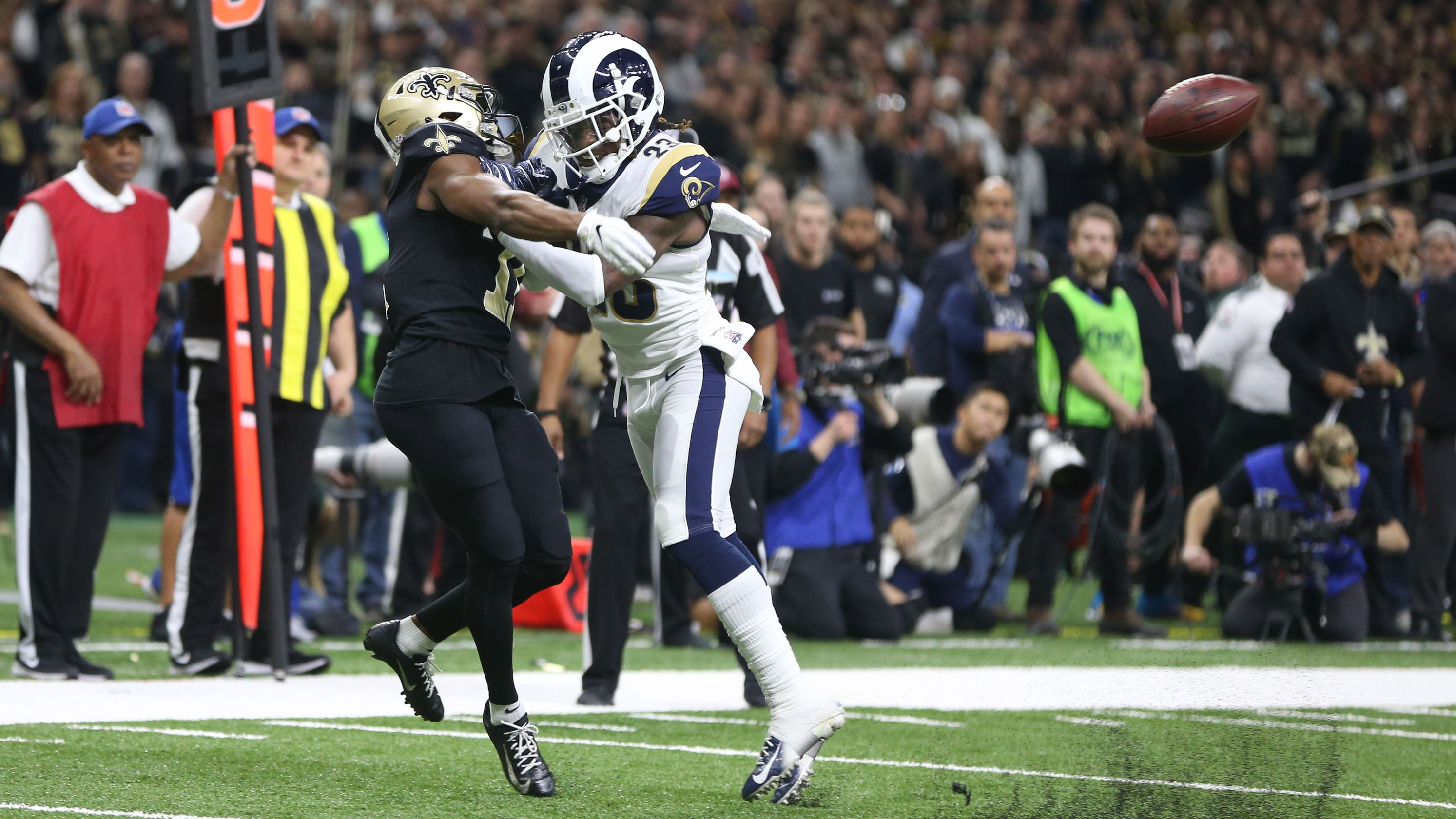 NFL pass interference rule
