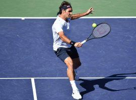 Roger Federer is on a collision course with Rafael Nadal at the BNP Paribas Open at Indian Wells. (Image: Peter Staples/ATP Tour)