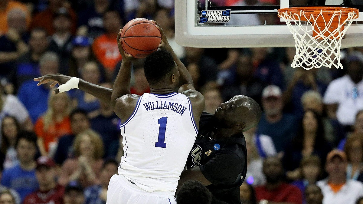 Zion Williamson Tacko Fall