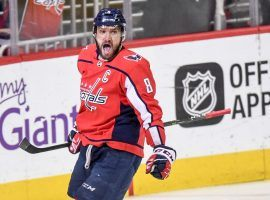 Alex Ovechkin has been a big reason for the resurgence of the Washington Capitals, who now are in first-place. (Image: Washington Post)