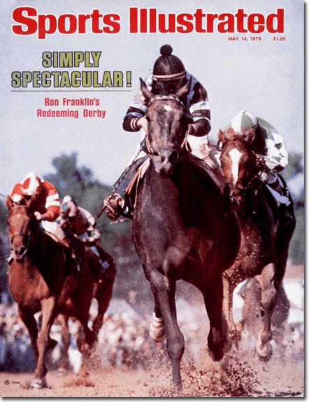 Sports Illustrated cover: 1979 Kentucky Derby