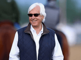 Trainer Bob Baffert loaded for bear in Razorback land. (Image: Getty/Andy Lyons)
