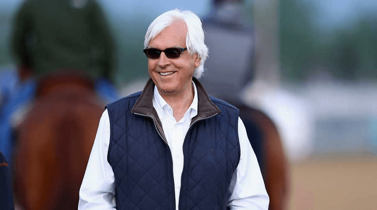 Baffert: relaxed and ready