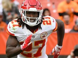 Cleveland running back Kareem Hunt was suspended eight games by the NFL on Friday. (Image: Getty)