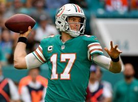 Ryan Tannehill was traded by Miami to Tennessee, and needs a starting quarterback. (Image: USA Today Sports)