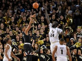 UCF center Tacko Fall (24) alters a shot from Cincinnati's Mamoudou Diarra during a game in Orlando, Florida. (Image: USA Today Sports)
