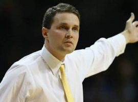 LSU men's basketball coach Will Wade was suspended by the university for wiretapped phone calls of him possibly discussing giving money to a recruit. (Image: Getty)