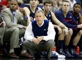 Rick Byrd along the sidelines of a Belmont game in Nashville, TN. (Image: Rob Carr/Getty)