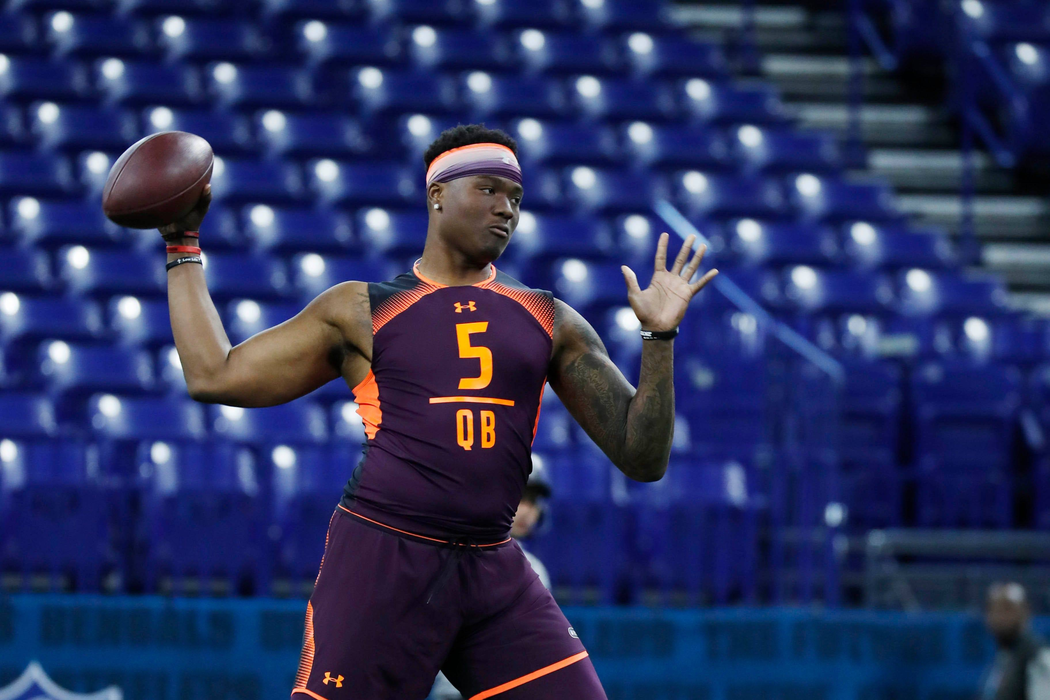 Dwayne Haskins NFL Combine