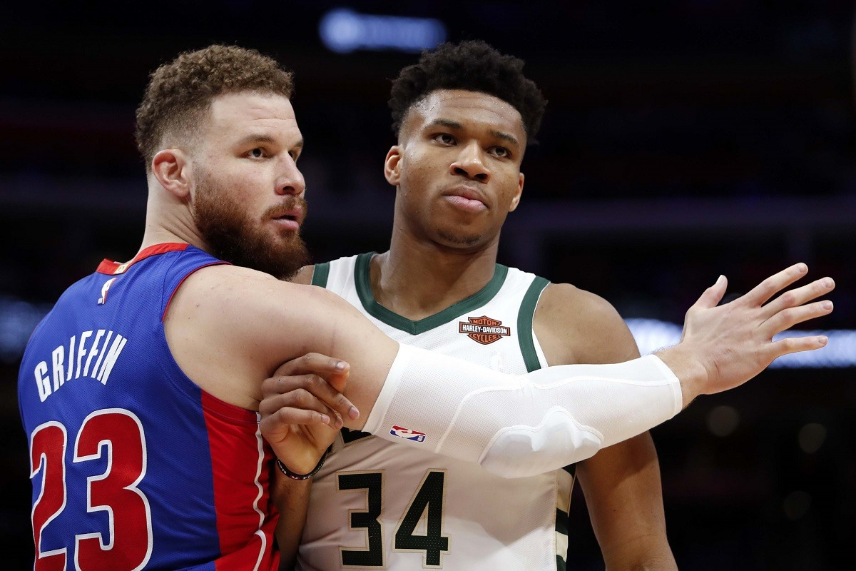Blake Griffin Greek Freak