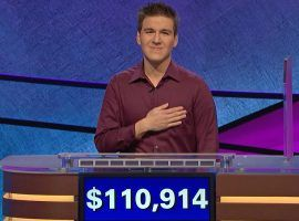 James Holzhauer has now set the record for single day Jeopardy winnings, and has the most money ever for a four-time champion. (Image: Sony Pictures Television)