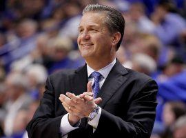 John Calipari has signed what amounts to a lifetime contract with the Kentucky Wildcats. (Image: Mark Zerof/USA Today Sports)