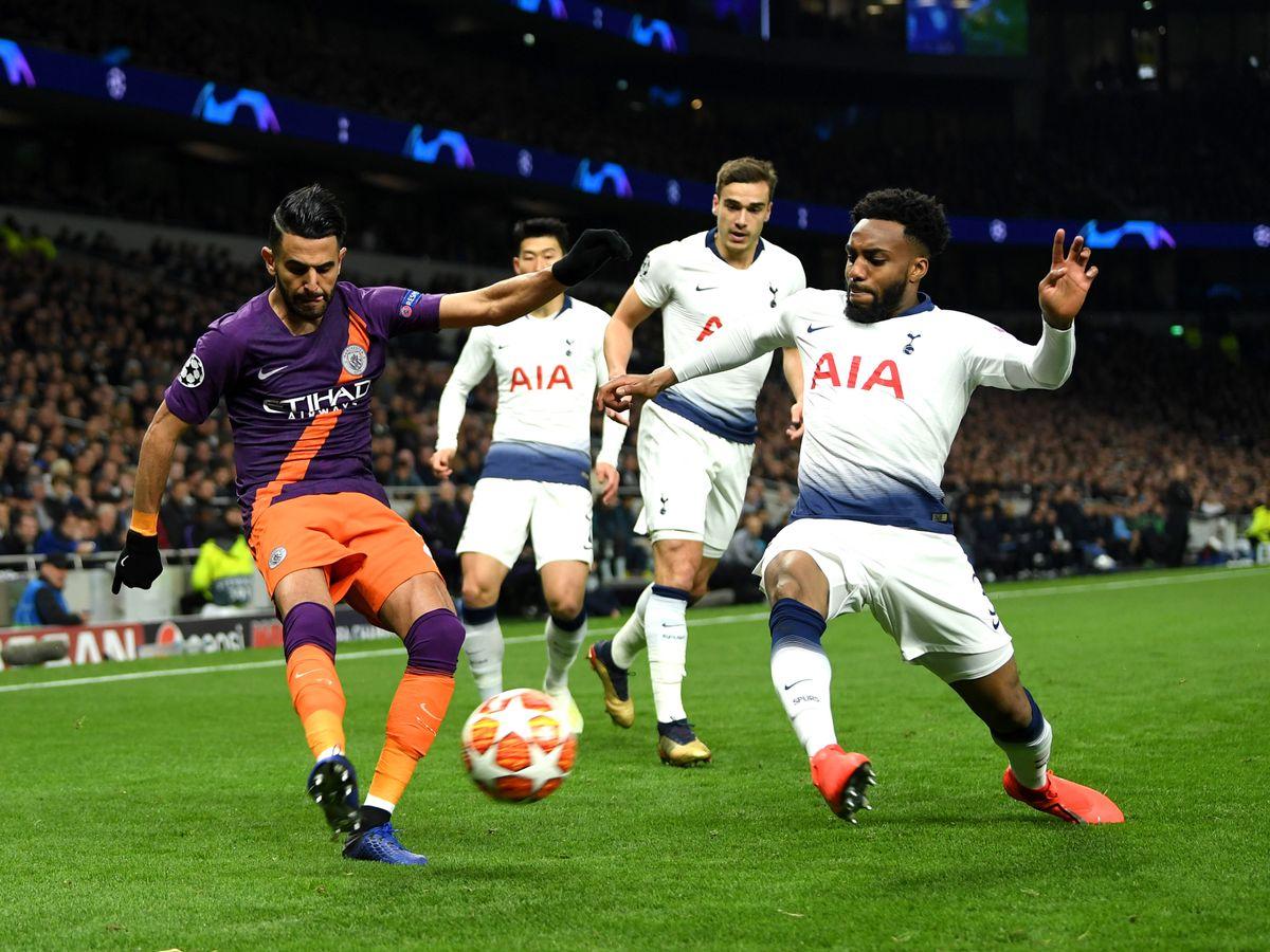 Champions League Manchester City Tottenham