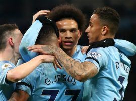 Manchester City is still seeking a historic quadruple this season as it visits Tottenham in the first leg of their Champions League quarterfinal clash. (Image: Getty)