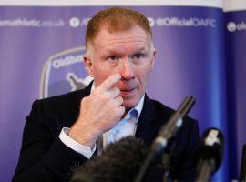 Former England star Paul Scholes was accused of betting on soccer while service as a director at Salford City before becoming manager at Oldham Athletic. (Image: Carl Recine/Reuters)