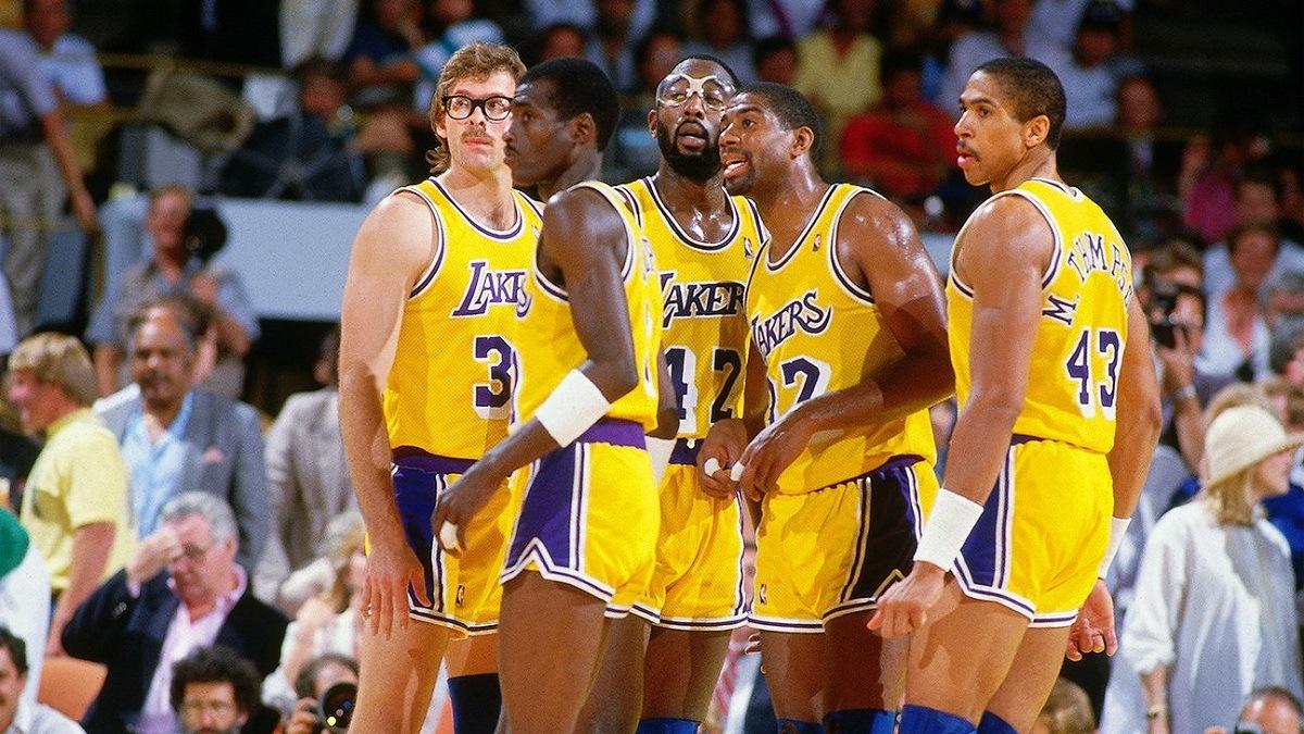 Showtime LA Lakers 1980s