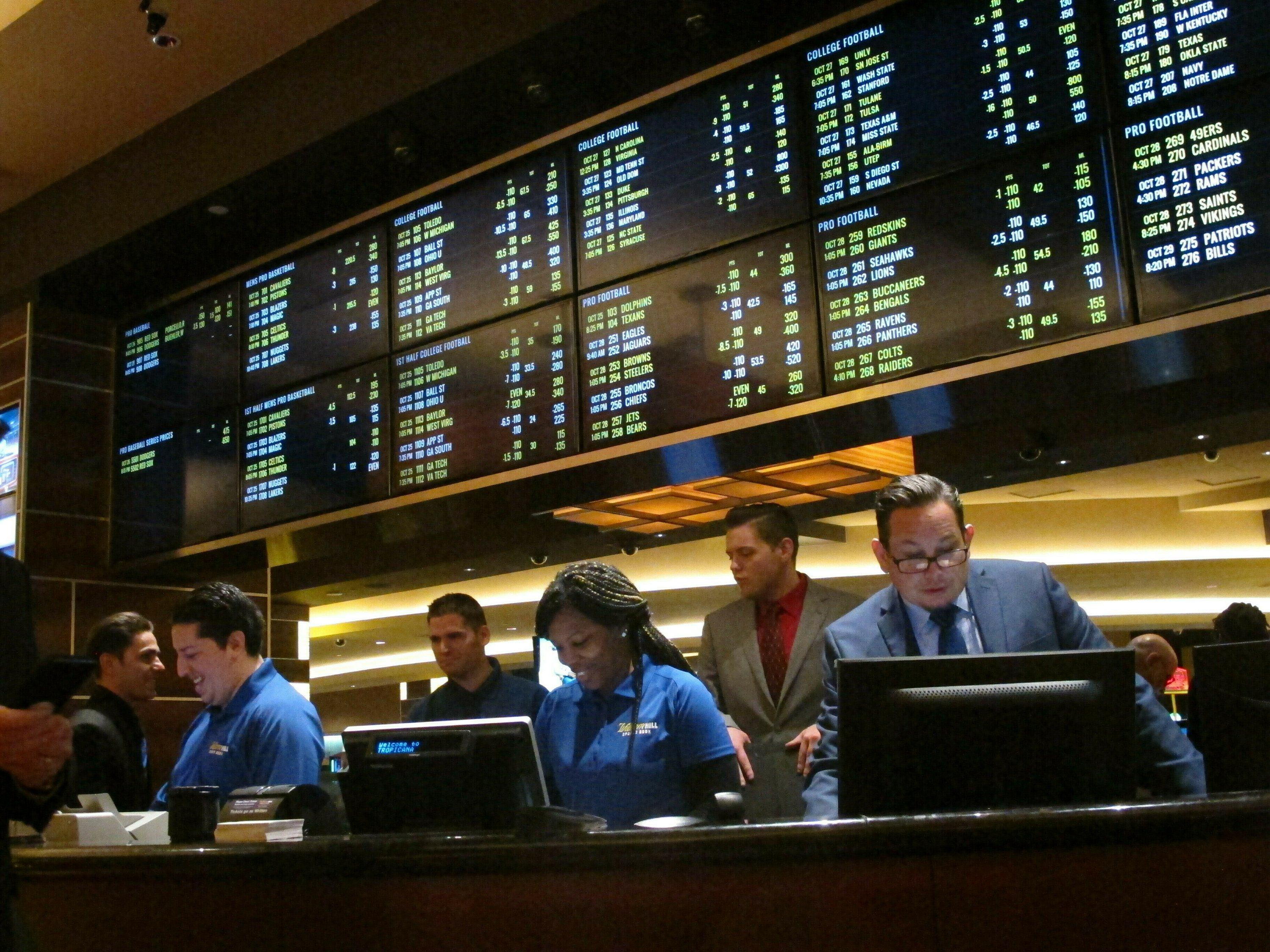 Sports betting legislation