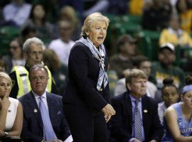 University of North Carolina women's basketball coach Sylvia Hatchell and her staff have been placed in paid leave pending a review of the program's culture. (Image: Tony Gutierrez/AP)