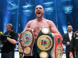 Lineal heavyweight champion Tyson Fury (pictured) will take on Tom Schwarz at the MGM Grand in Las Vegas on June 15. (Image: Lee Smith/ZUMA)