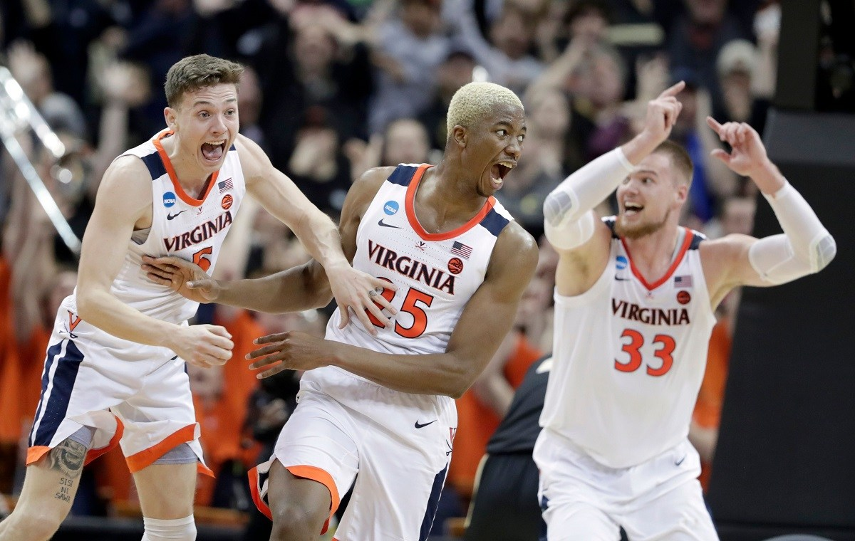 Virginia Kyle Guy Mamadi Diakite