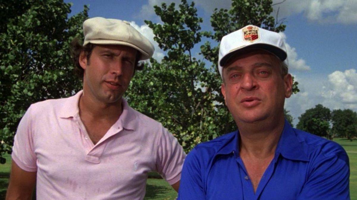 Caddyshack Rodney Dangerfield Chevy Chase