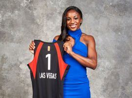 Notre Dame guard Jackie Young became the third straight No. 1 pick for the Las Vegas Aces. (Image: Getty)