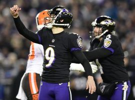Baltimore Ravens kicker Justin Tucker signed an extension through 2023 that will make him the highest-paid at his position. (Image: USA Today Sports)