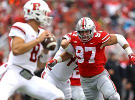 Nick Bosa has been projected as the first or second pick in Thursday's NFL Draft. (Image: USA Today Sports)