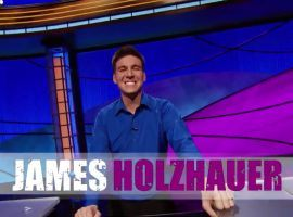 Las Vegas pro gambler, James Holzhauer, is closing in on $2 million in winnings. (Image: Jeopardy)