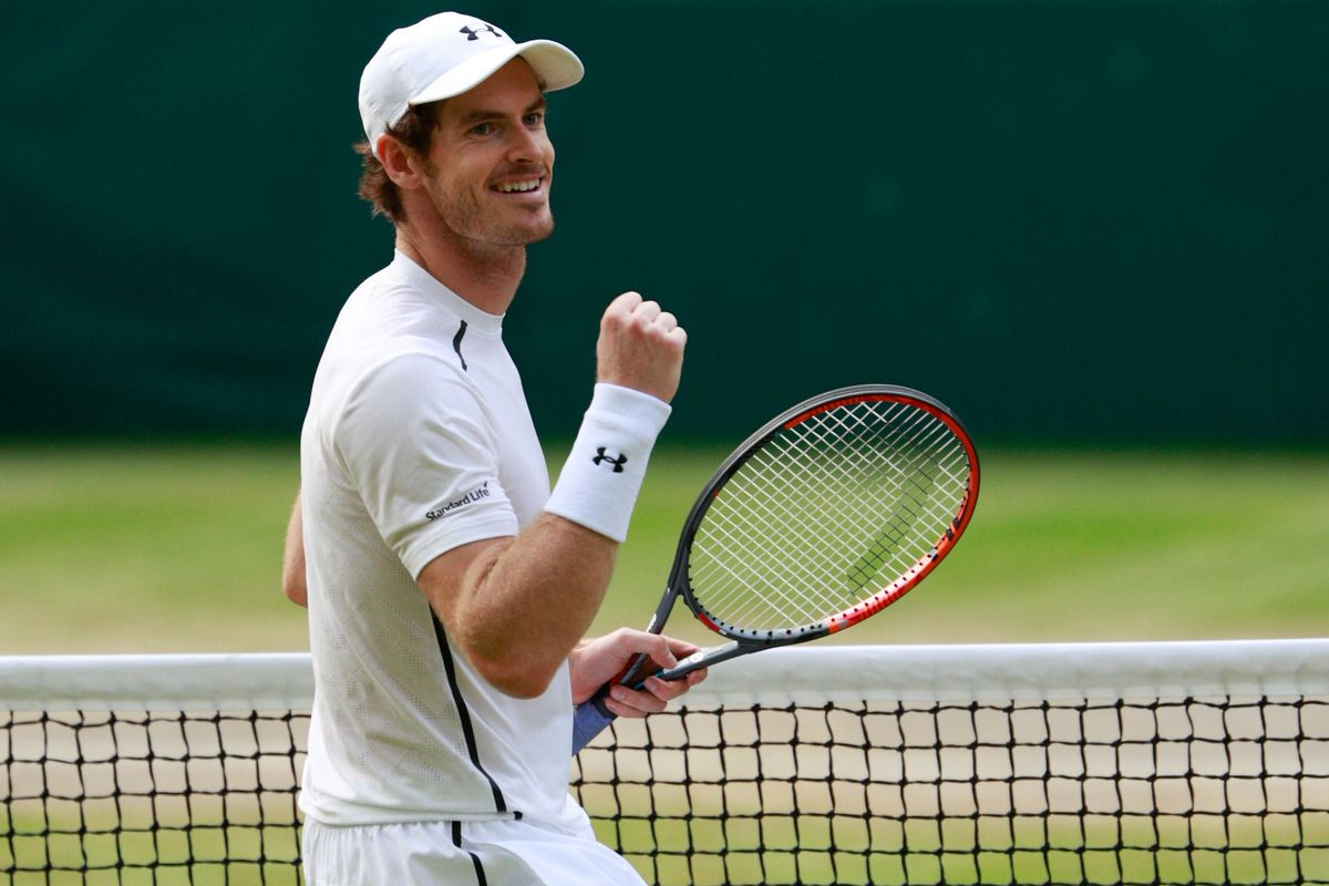 Andy Murray Wimbledon doubles
