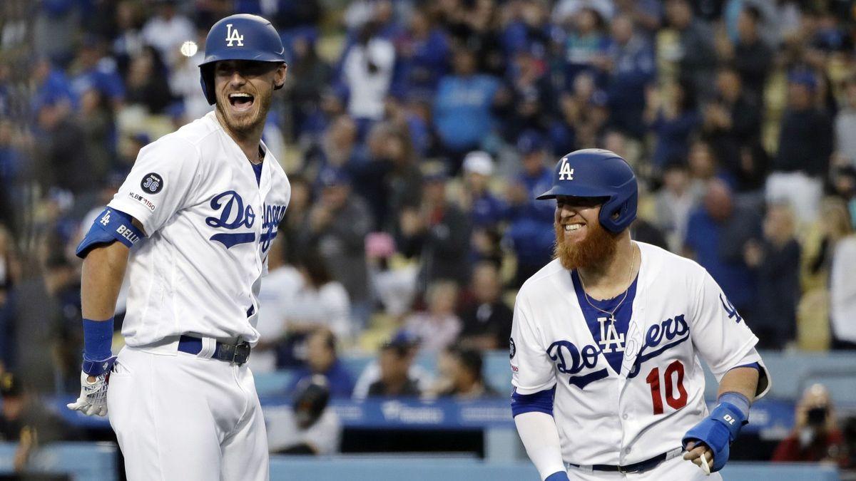 LA Dodgers Justin Turner Cody Bellinger