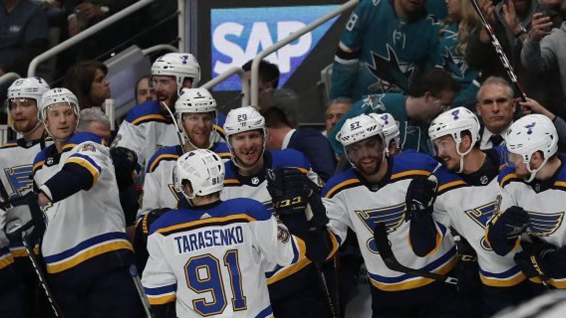 Blues Sharks Game 5