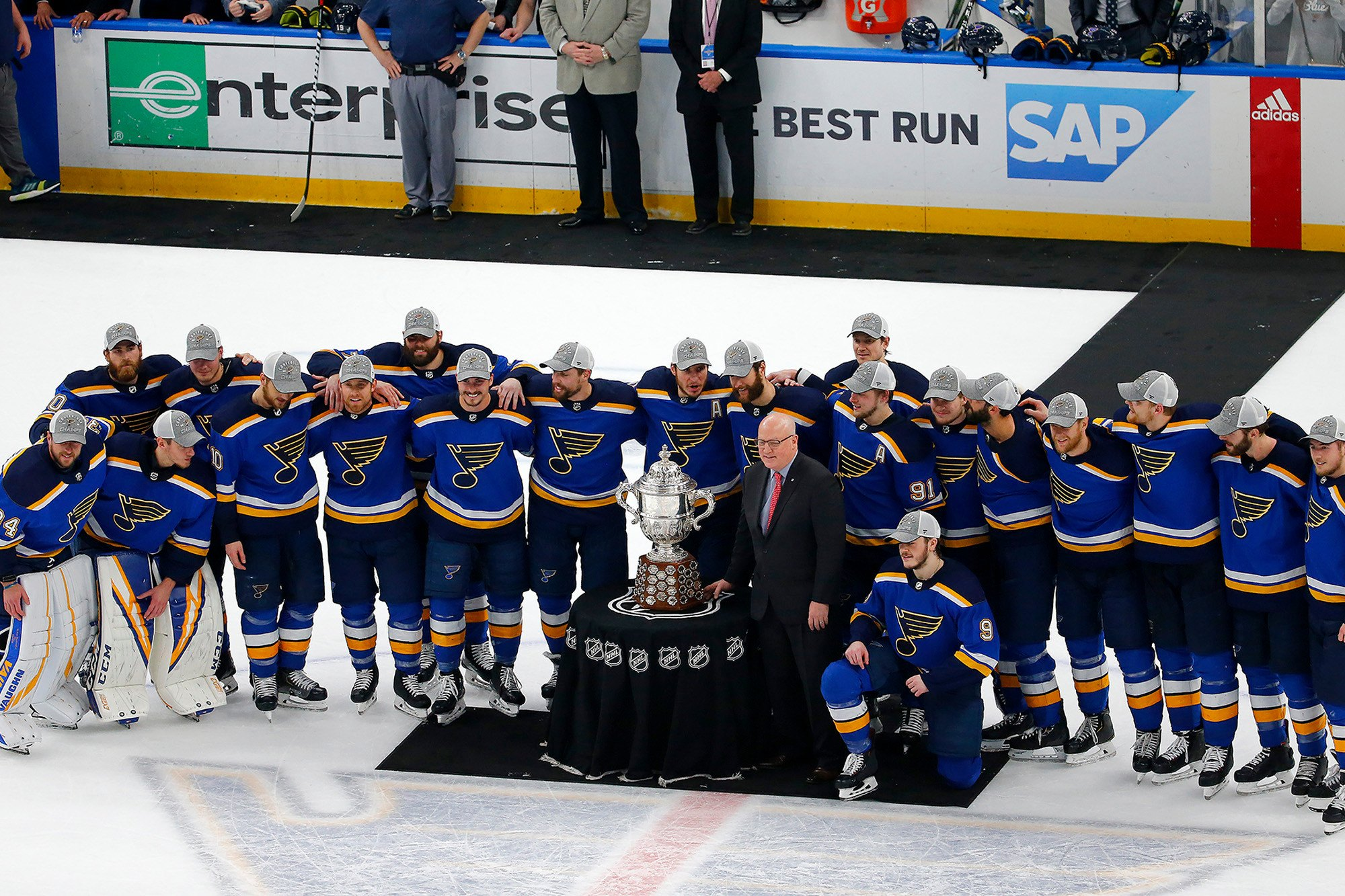 Blues Sharks Stanley Cup
