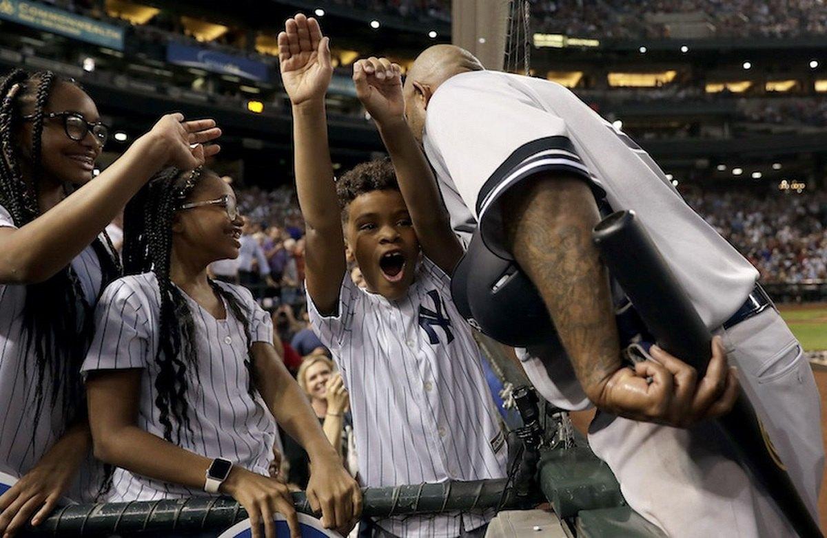CC Sabathia Yankees 3,000