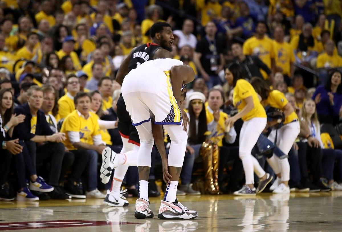 2a930de6d Kevin Durant Warriors Injury