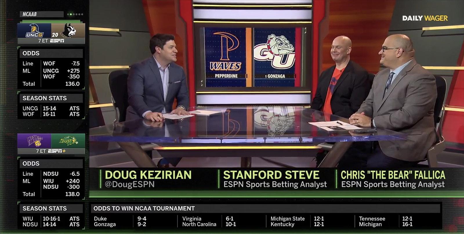 ESPN Caesars sports betting