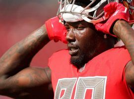 Jason Pierre-Paul reportedly suffered a neck fracture in a car crash last week, an injury which could cost him the entire 2019 season. (Image: Monica Herndon/Tampa Bay Times)