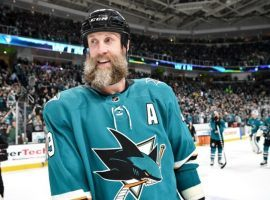 Joe Thornton, center for the San Jose Sharks, is trying to win San Jose their first Stanley Cup in franchise history. (Image: AP)