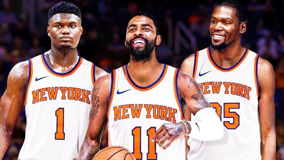 Kevin Durant Knicks Zion