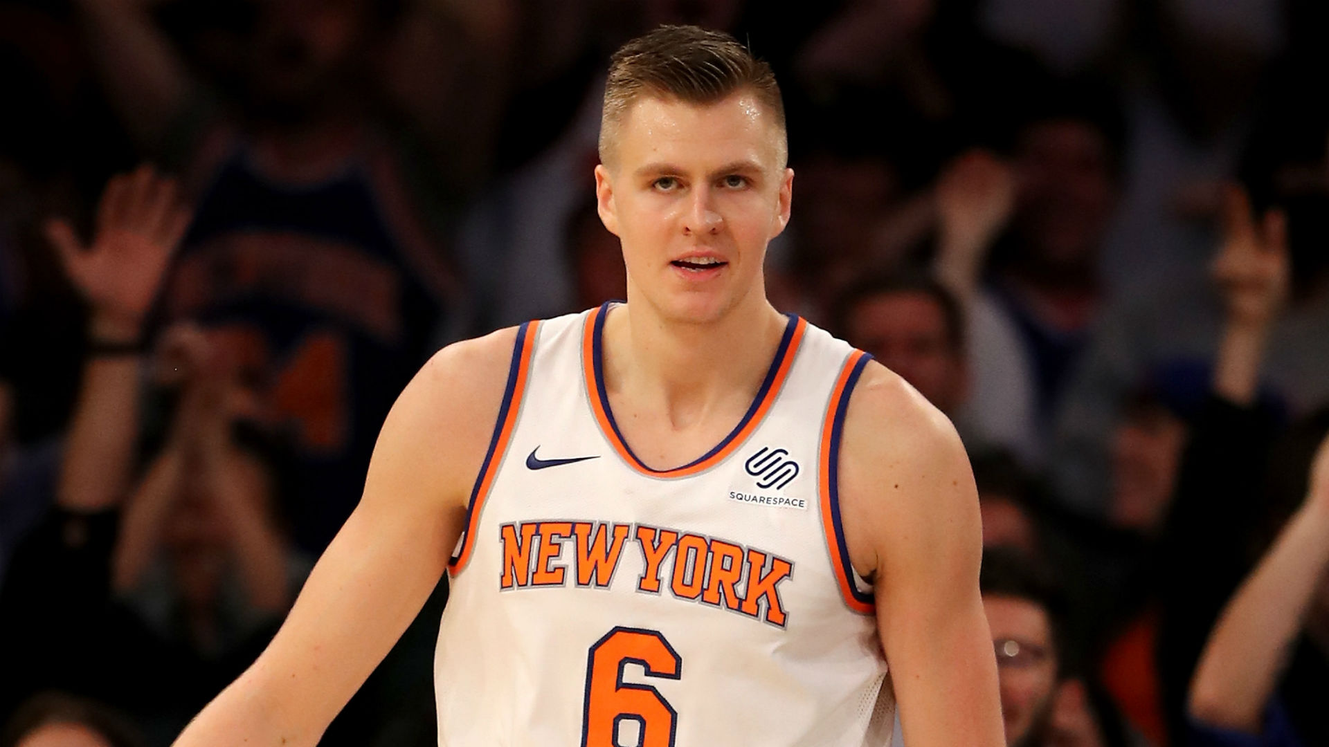 Kristaps Porzingis Knicks trade