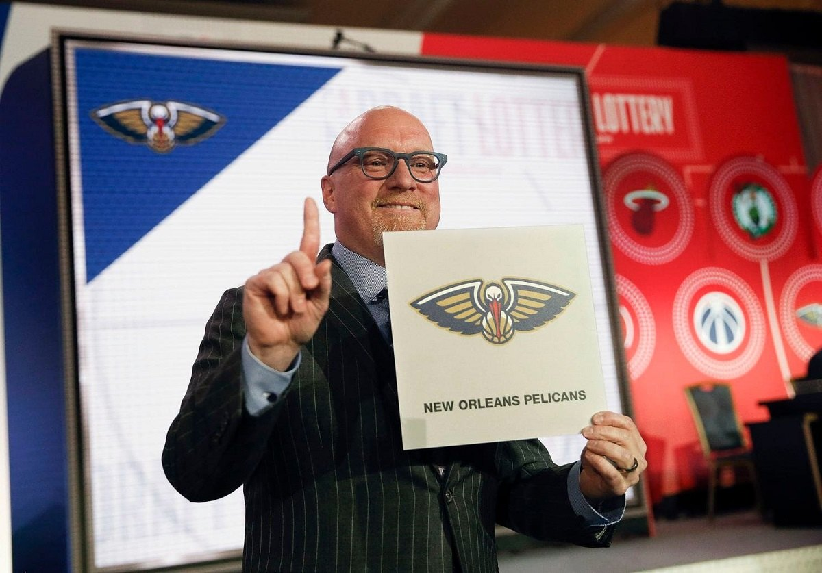 David Griffin Lottery New Orleans Pelicans