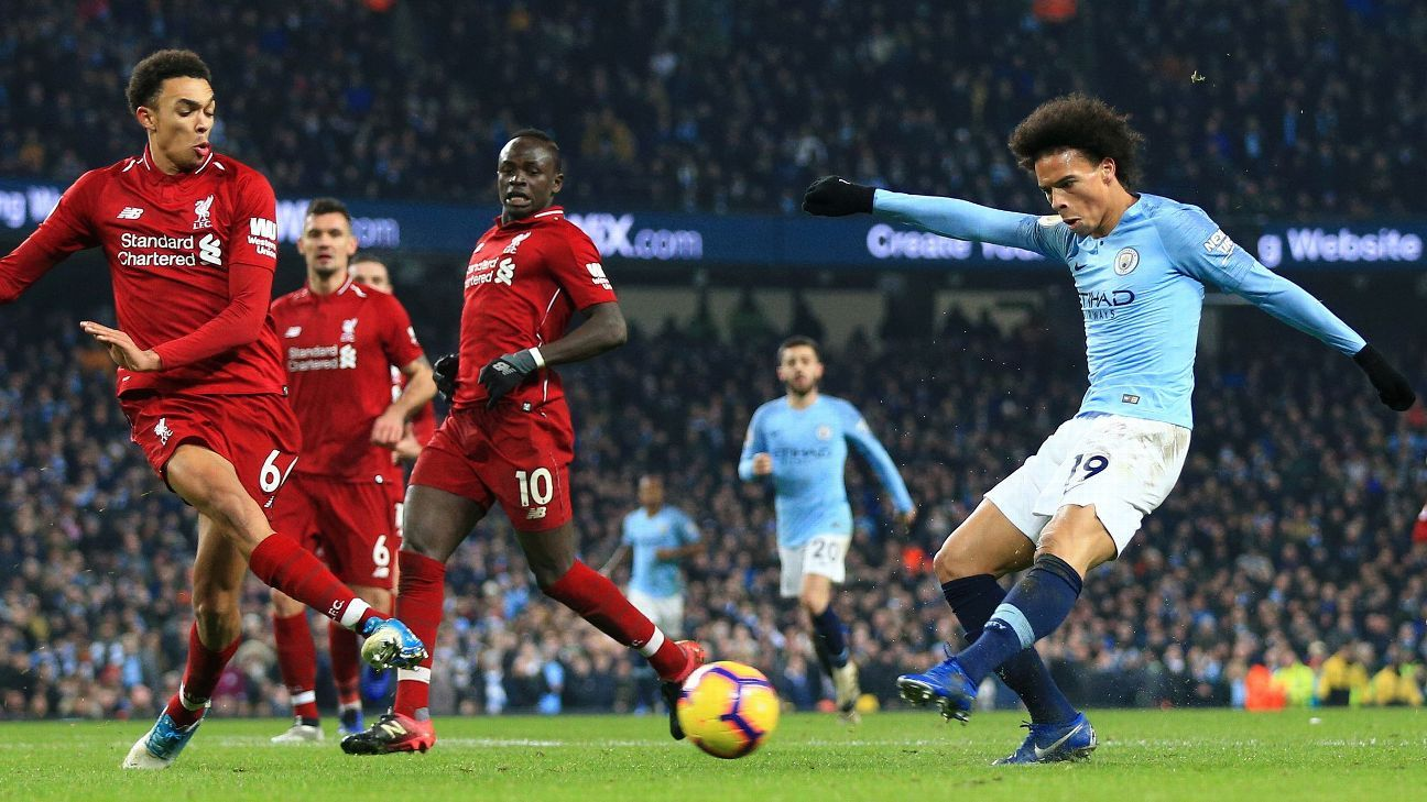 Premier League Manchester City Liverpool