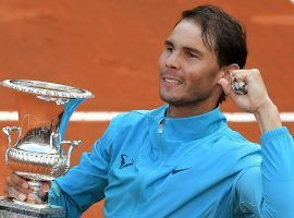 Rafael Nadal is the clear favorite to win the French Open after picking up the Italian Open title last week. (Image: Tiziana Fabi/AFP/Getty)