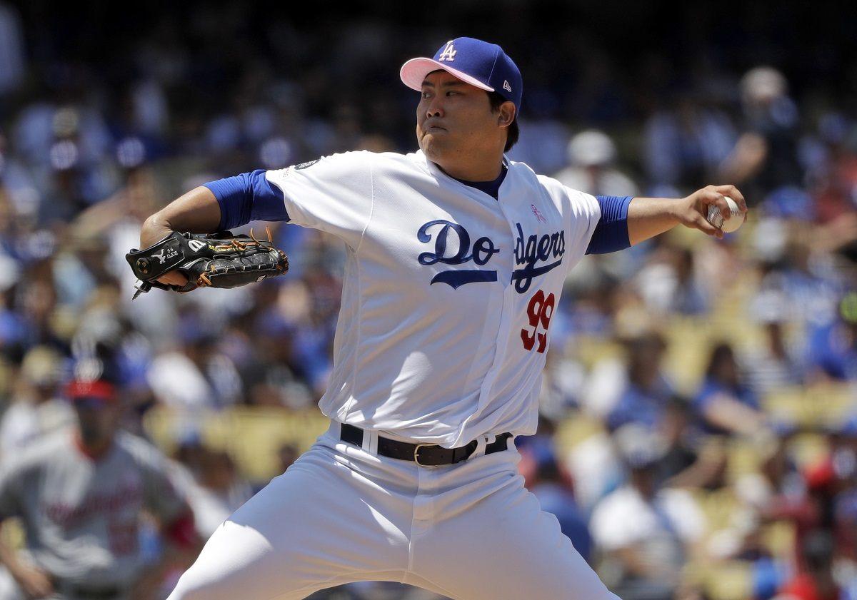 Hyun-Jin Ryu Dodgers